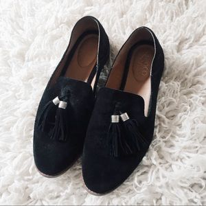 Franco Sarto Loafers Leather with Tassels size 8